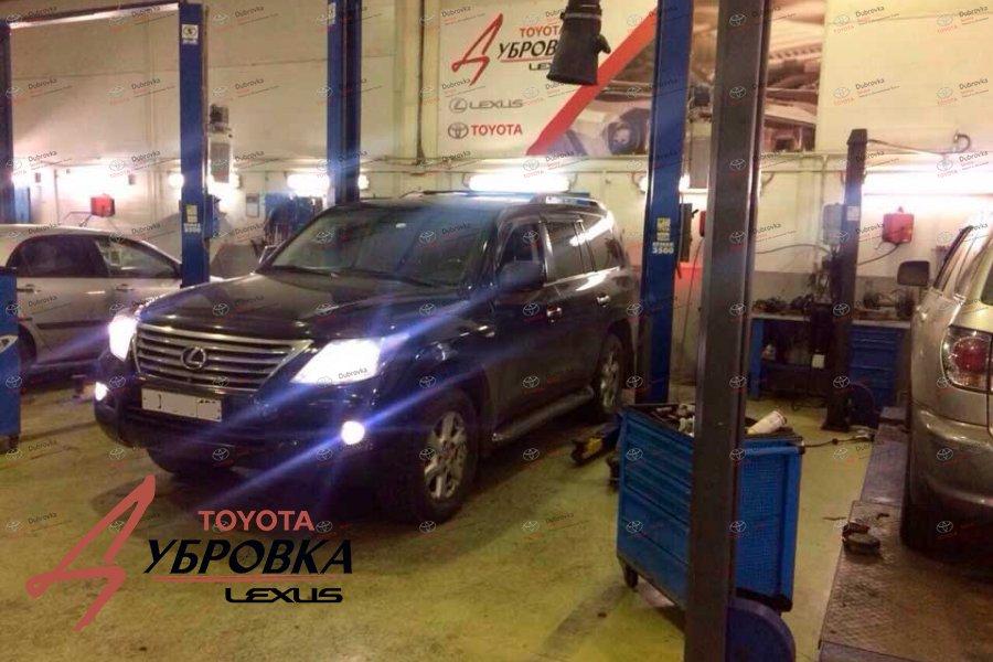 Кузов Lexus LX 570