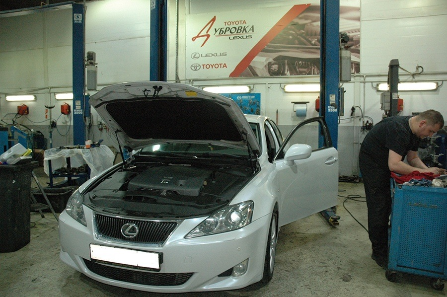 Блог - Lexus IS 250 2006 года, ТО 120 000 км